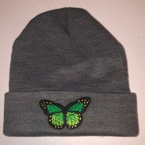 Butterfly beanie hat!